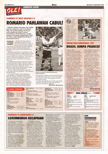FLAMENGO VS VELEZ SARSFIELD 2-0 ROMARIO