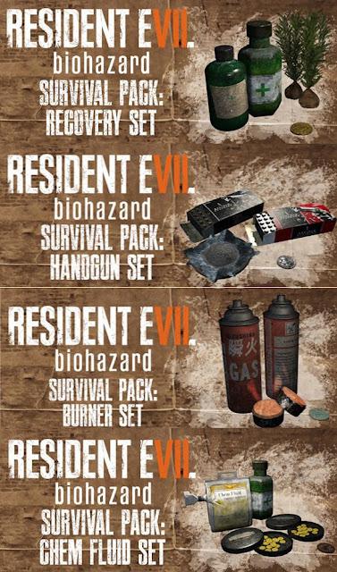 Se filtran los DLCs de obsequio por reservar Resident Evil 7