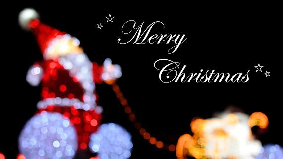 download besplatne Božićne pozadine za desktop 2560x1440 čestitke blagdani Merry Christmas Djed Mraz