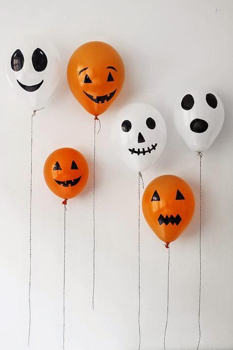 9 Frightfully Easy Halloween Party Decorations A Few To Buy Too Mamas V I B