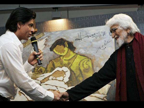 SRK & M.F Hussain