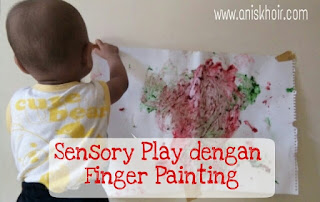 Sensory Play Dengan Finger Painting