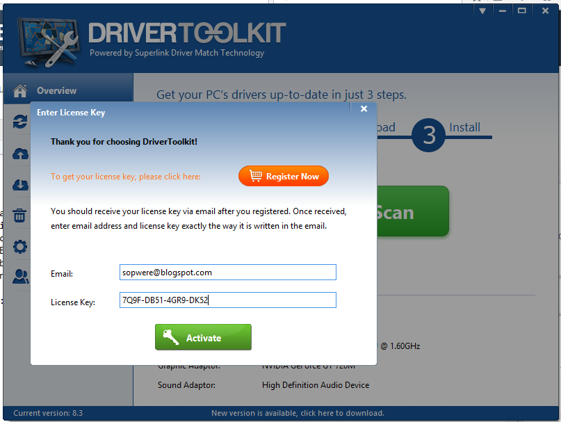 Driver Toolkit 8.4 Terbaru Full Crack - SOPWERE