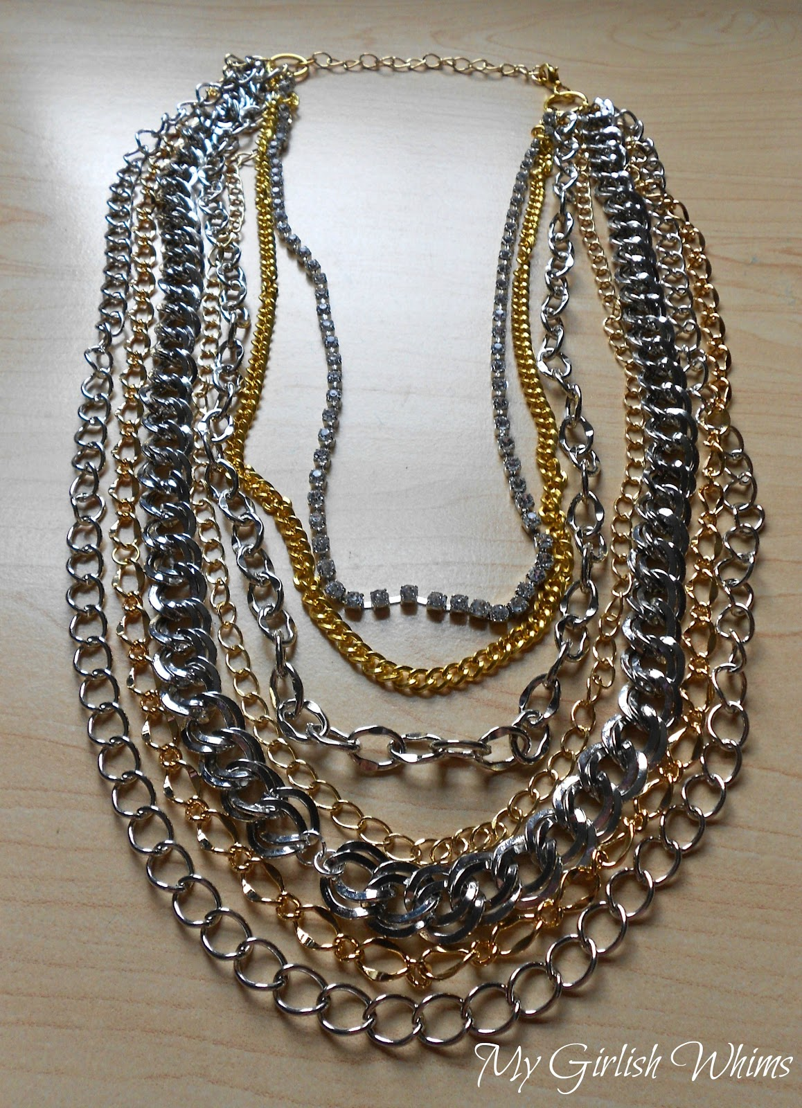 Chain Knock-Off Necklace - My Girlish Whims
