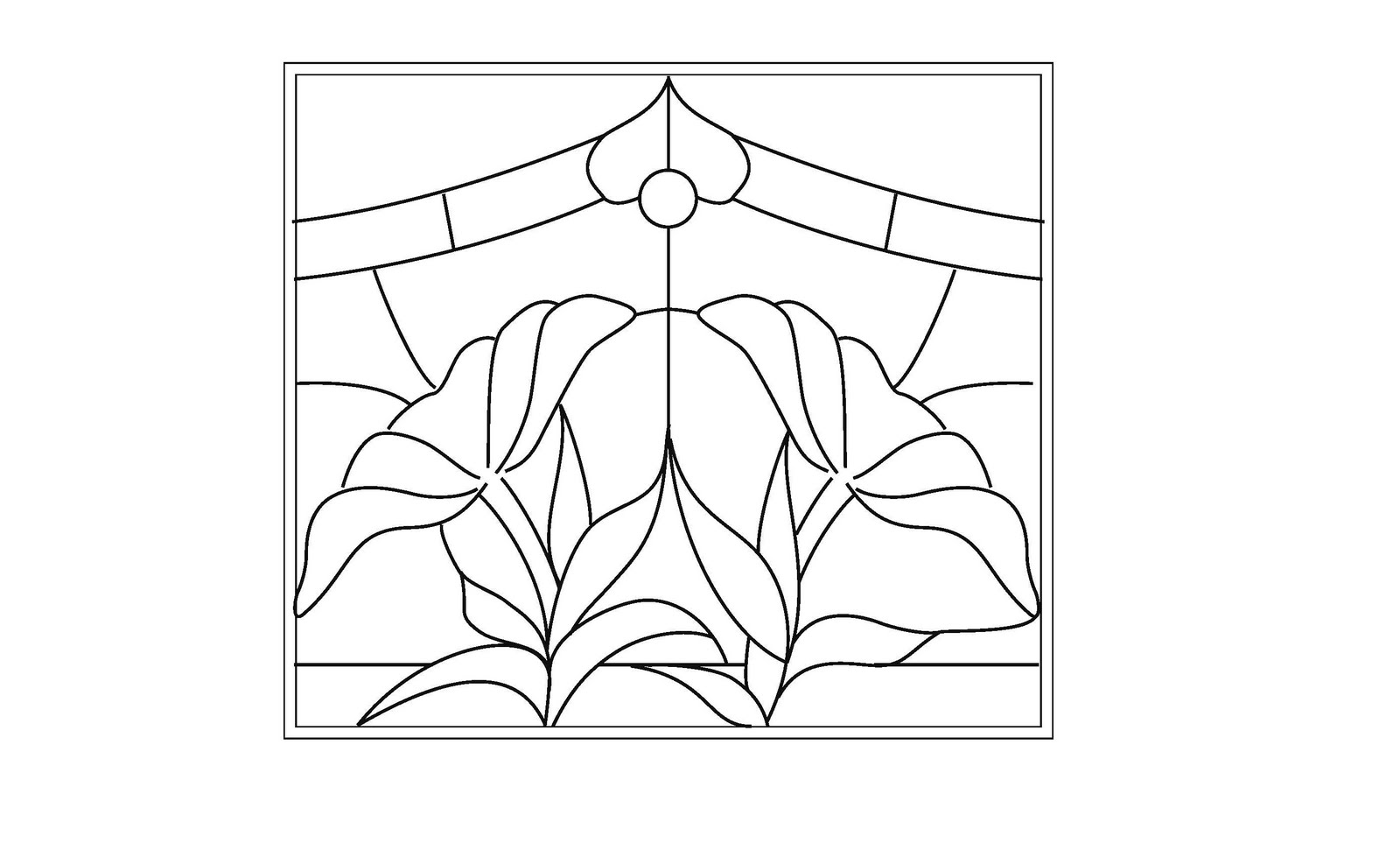 Stained Glass Patterns For Free November