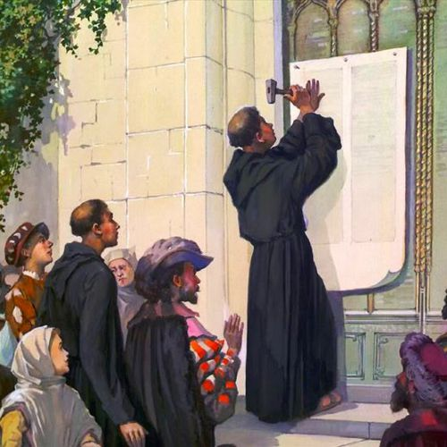 Martin Luther and his theses
