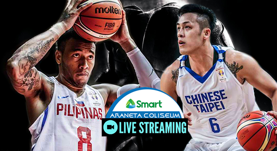 List of live streaming websites to watch Gilas Pilipinas vs Chinese Taipei FIBA World Cup 2019 Asian Qualifiers