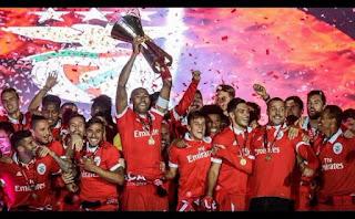 Luisão, novo recordista de títulos no Benfica