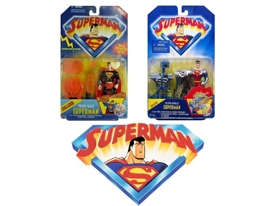 Toyfare Mail Away Exclusive Superman Eradicator Hasbro 1998 With Box And Bag