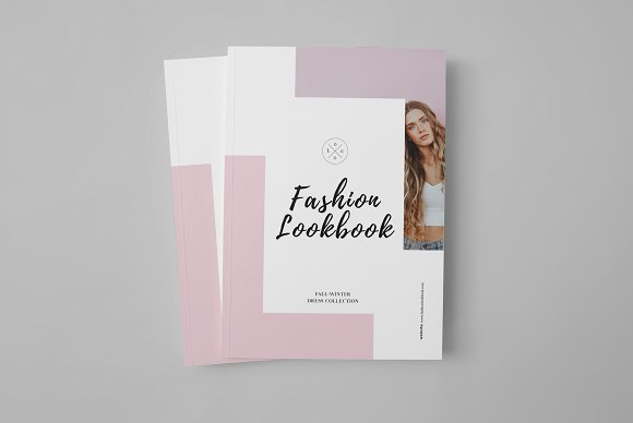 fashion catalog lookbook template free download