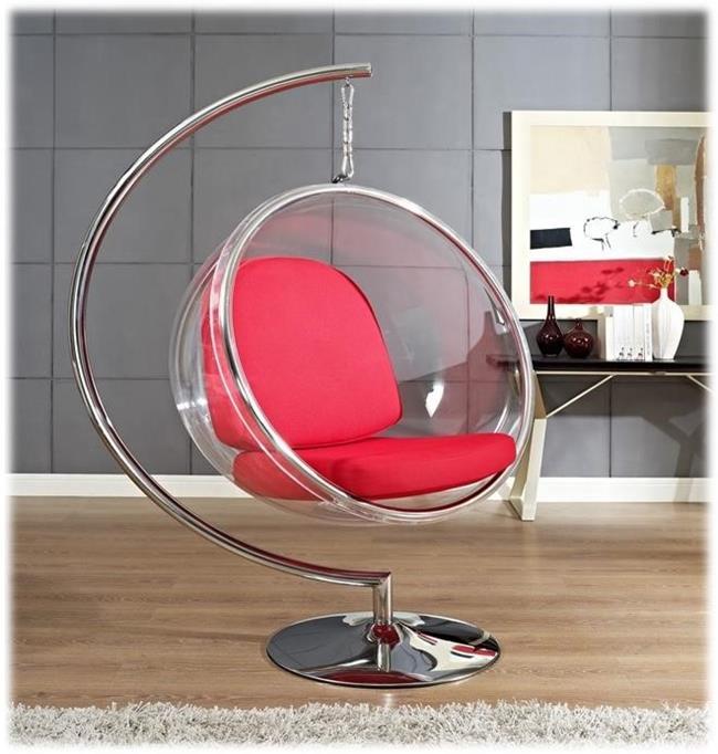 yarım fanus sallanan sandalye