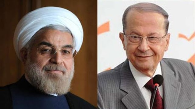 Michel Aoun election heralds better future for Lebanon: Hassan Rouhani