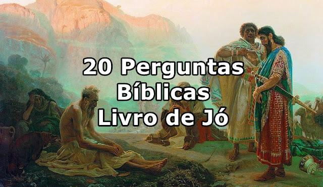 perguntas biblicas livro de jó