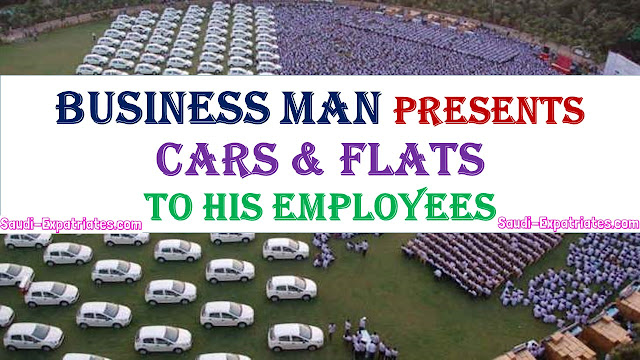 INDIAN BUSINESS MAN GIFTS CARS & FLATS TO EMPLOYEES ON DIWALI