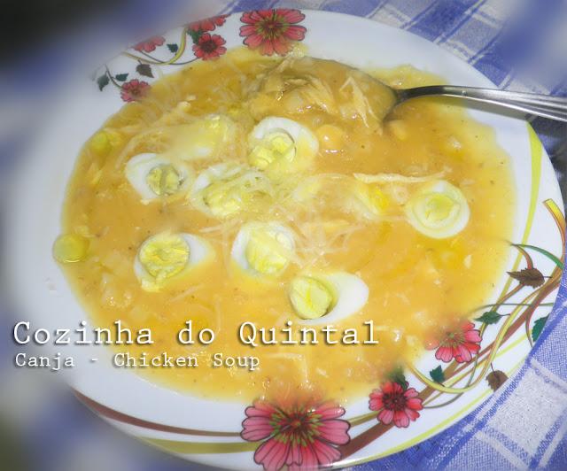 Chicken Soup Cozinha do Quintal