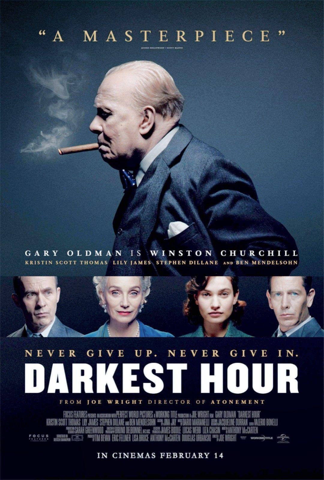 Darkest Hour (2017) ชั่วโมงพลิกโลก [ซับไทย]