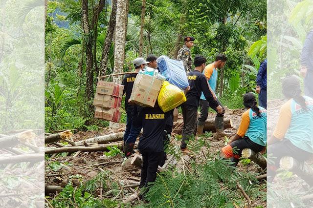 Tak Urusi Demo, Pengurus NU dan Banser Tasikmalaya Kerahkan Bantuan Tenaga dan Obat-obatan untuk Korban Banjir