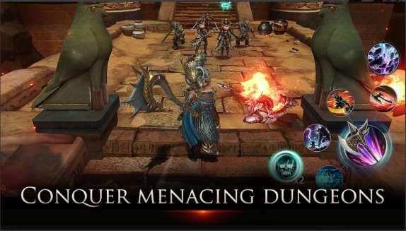 Game RPG Android Online Terbaru Darkness Rises APK