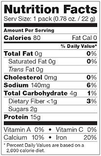 Nutritional Review of Vega Protein Smoothie Viva Vanilla