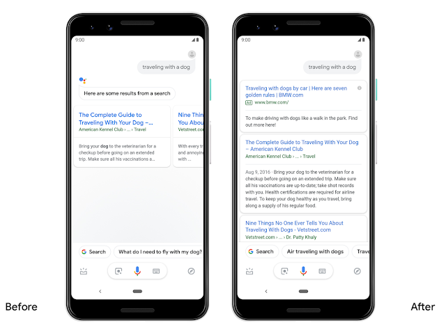 Google Assistant will Show More Visually Appealing Results in Android
