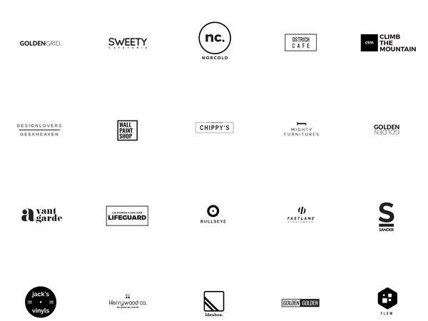 Download 25 Minimal Logo Templates Free