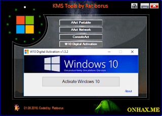 Ratiborus KMS Tools 01 08 2018 Portable ~ OffHex - Download Cracked