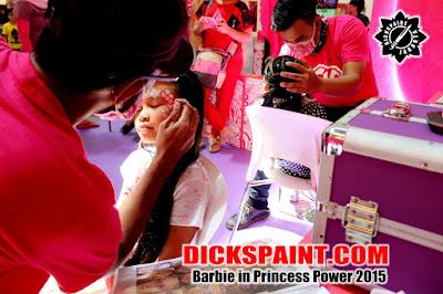 Face Painting Barbie Kids Jakarta