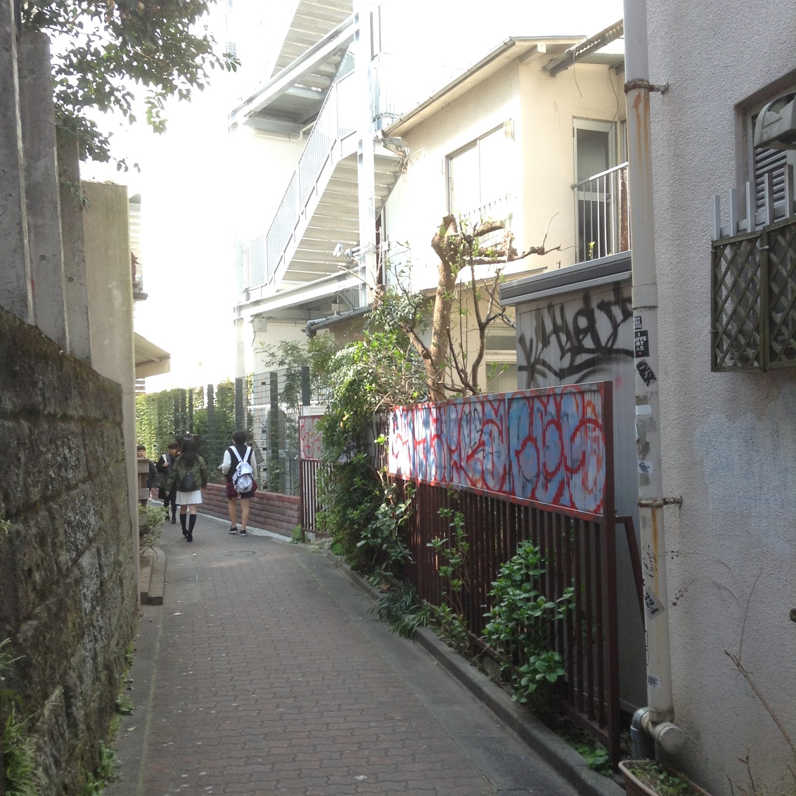 Harajuku backstreet Tokyo Japan