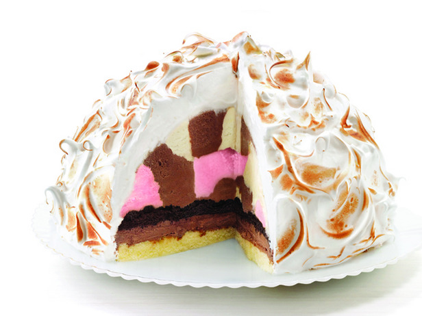 Baked Alaska Angel Food Cake