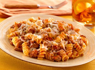 Versatile Pasta and Veef Skillet