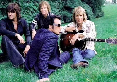 Foto de Bon Jovi fuera de los escenarios