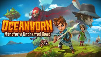 Oceanhorn: Monster of Uncharted Portada