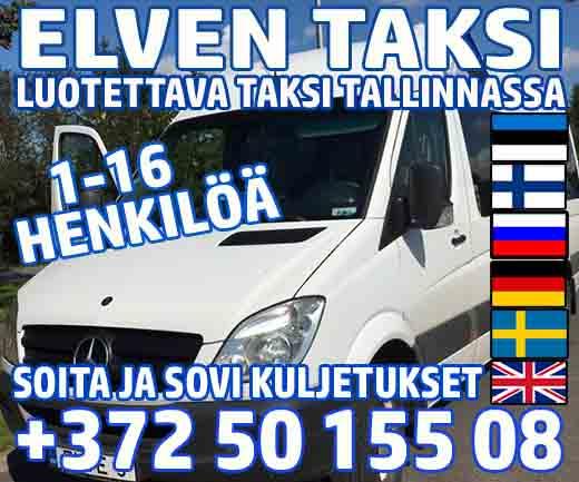Elven Taksi - Luotettava taksi Tallinnassa ja Virossa - sovi kuljetukset ryhmällesi - Tallinna ...