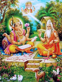 वेदव्यासजी के जीवन एवं जन्म की कथा। Birth and Life Story of Vedvyasji in hindi.