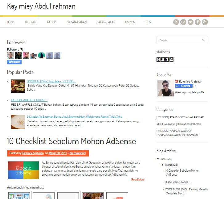 Full Edit Blog Untuk Kay Miey