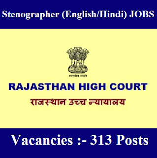 Rajasthan High Court, HCRAJ, Rajasthan, High Court, Stenographer, 10th, freejobalert, Sarkari Naukri, Latest Jobs, hcraj logo