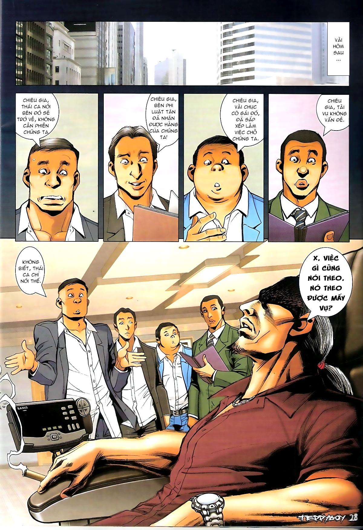Người Trong Giang Hồ - Chapter 1332: Chiêu gia Tam Liên - Pic 23