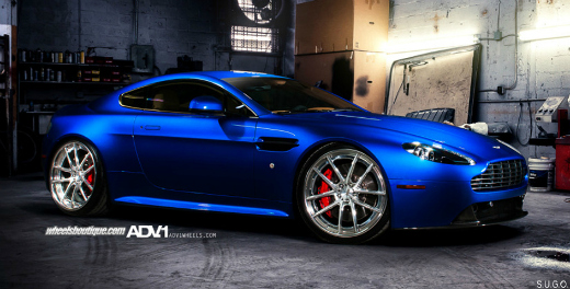 Aston Martin V8 Vantage By Adv 1 Wheels