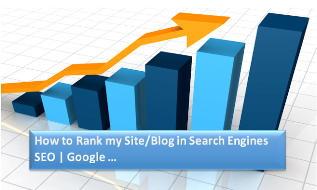 how to rank my site in search engine seo