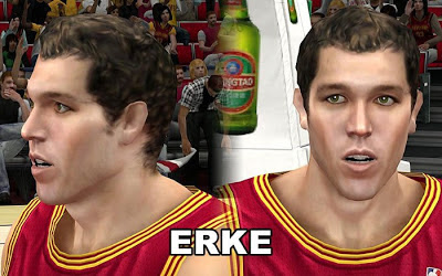 NBA 2K13 Luke Walton Cyberface Patch