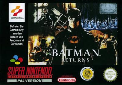 Batman returns videojuego