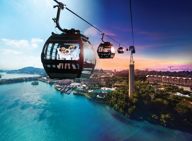 mount faber singapore cable car 45th anniversary