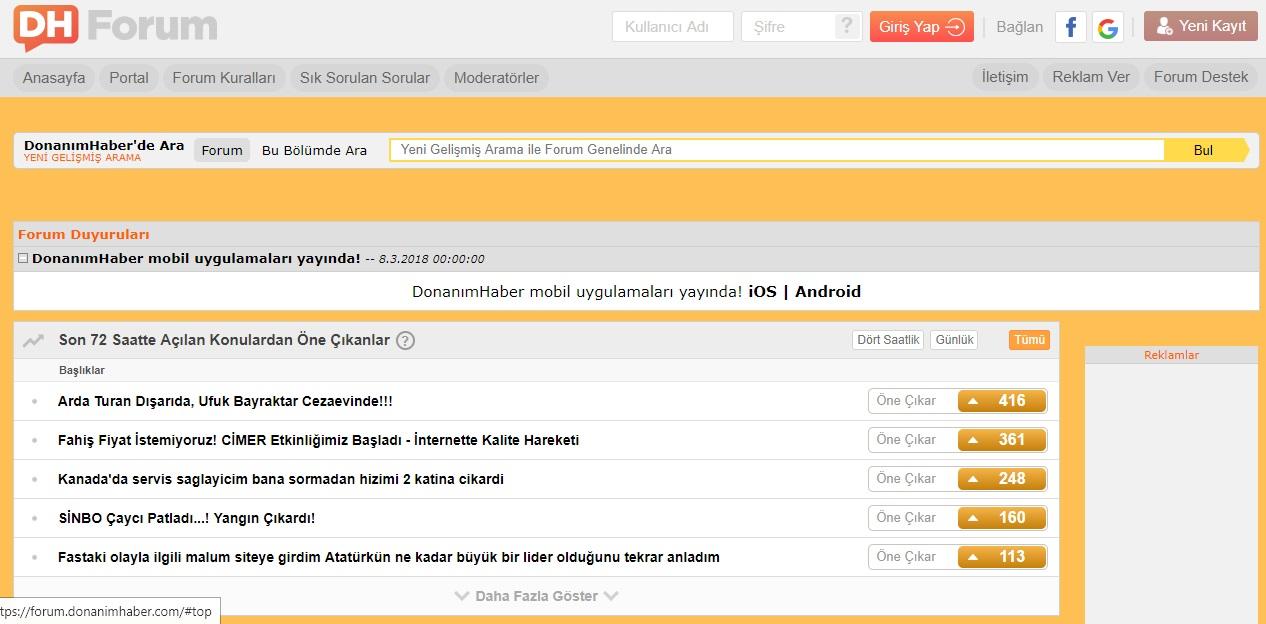 DonanımHaber, forum siteleri, en iyi forum siteleri, en iyi türk forum siteleri, türkiyenin en iyi forum siteleri, en çok ziyaret edilen forum siteleri