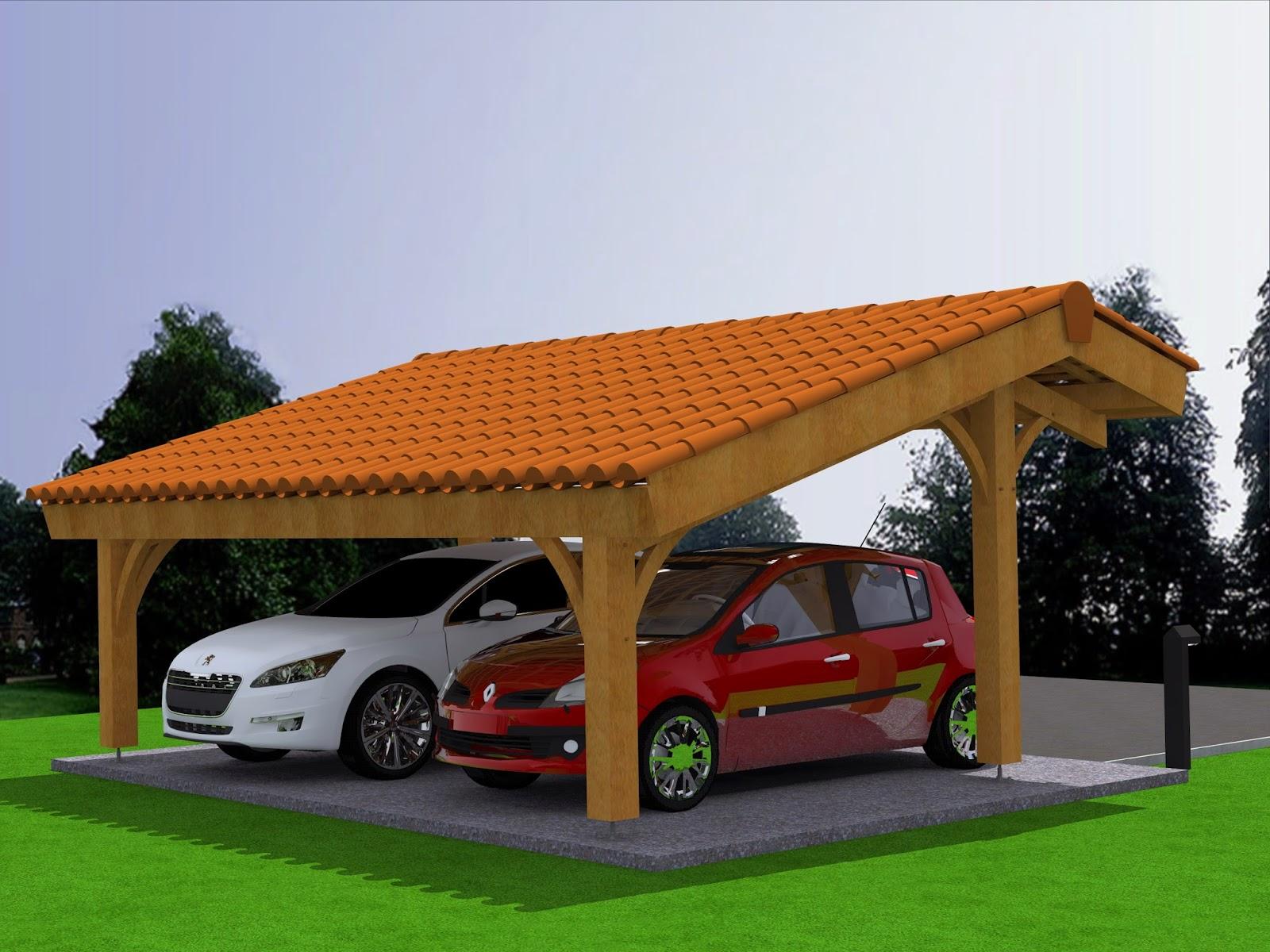 Carport Bois Pour Terrasse