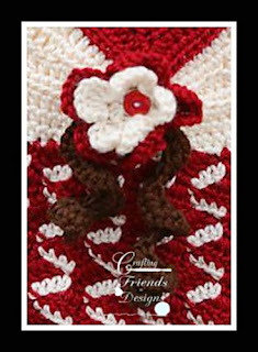 Free Ribbon Candy Flower Crochet Pattern
