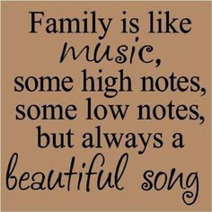 Family is like Music: LadyDpiano