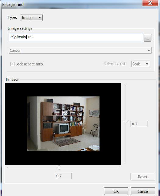 la finestra di dialogo del comando Matchperspective