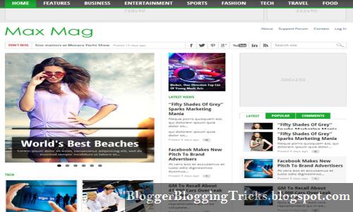 Chia sẻ Template Blogspot đẹp tại đây