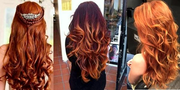 awesome pumpkin spice hair