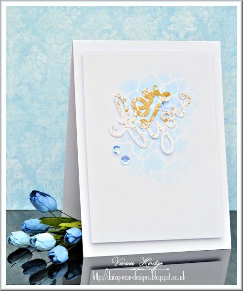 Blue, Gold, LIM, CAS, Stencil
